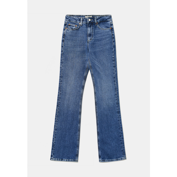 High Waist Wide Leg Jeans