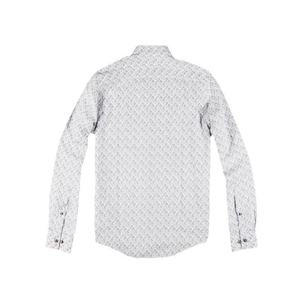 Gemustertes Langarmhemd