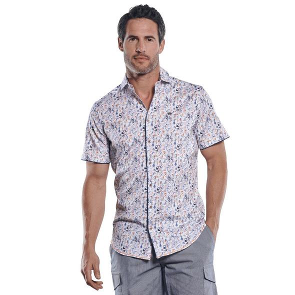 Buntes Hemd mit smarten Details