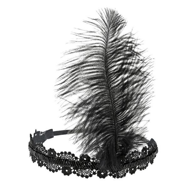 Haarband - Diva Feather