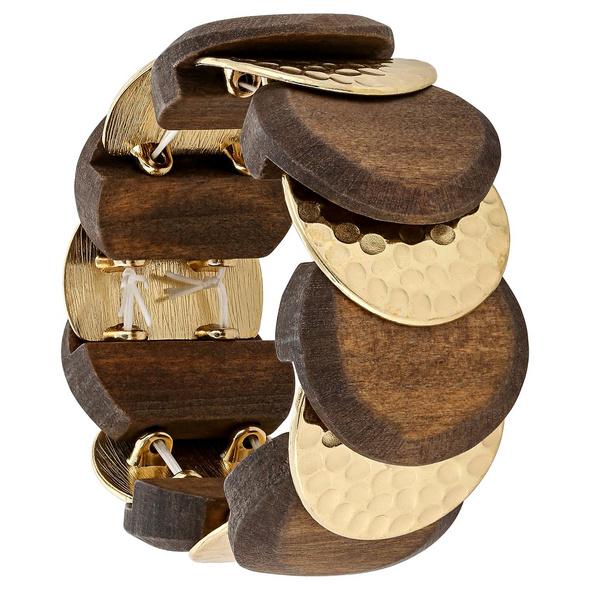 Armband - Golden Wood