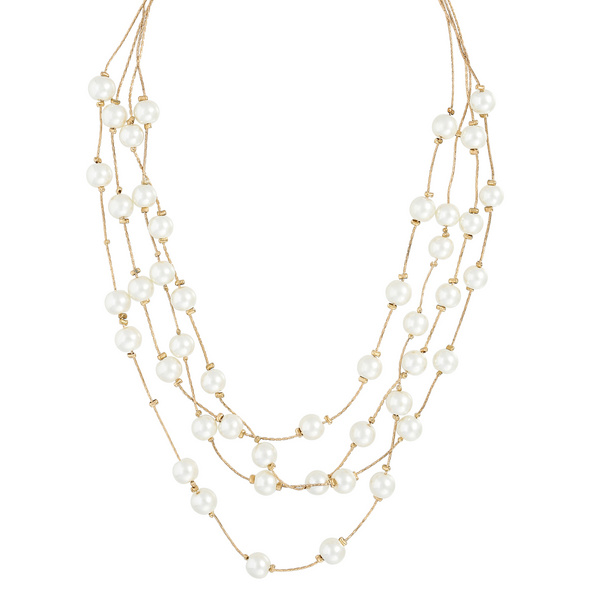Kette - Gold & Pearls