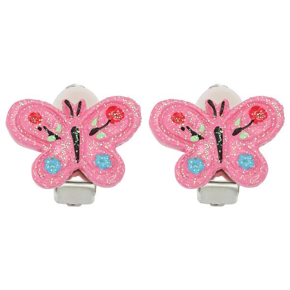 Kinder Ohrclips - Bright Butterfly