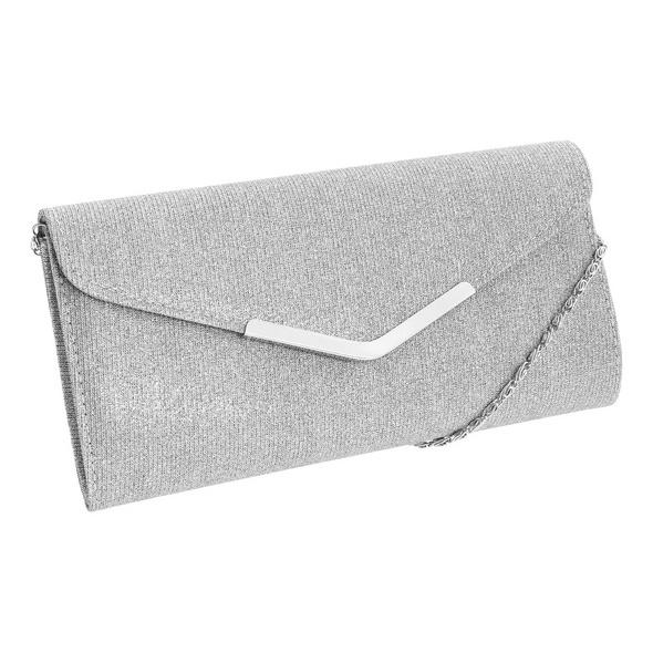 Clutch - Silver Glamour