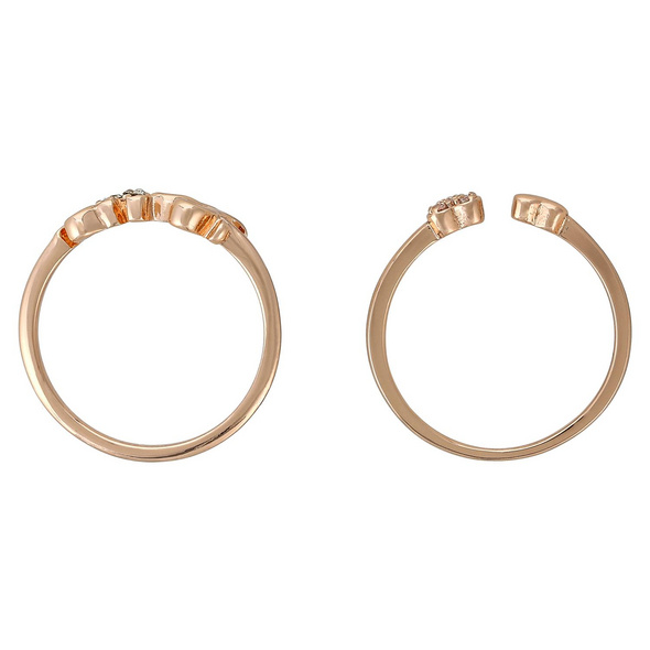 Ring-Set - Two Hearts