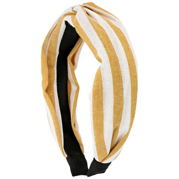 Haarreif - Yellow Stripes