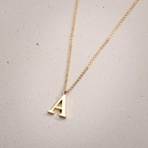 Kette - Golden A
