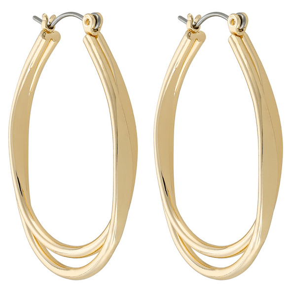 Creolen - Fancy Gold Oval Shape