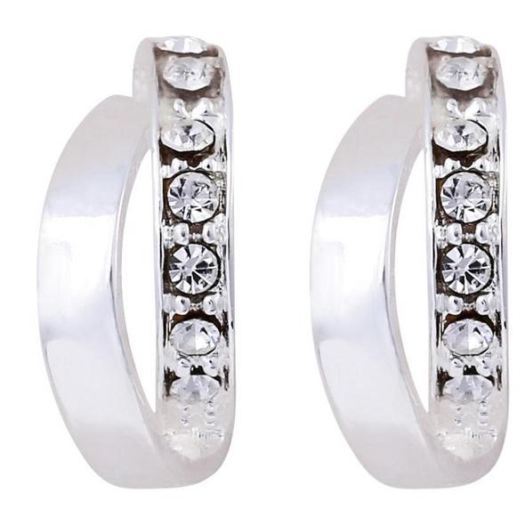 Silber Ohrstecker - Rings