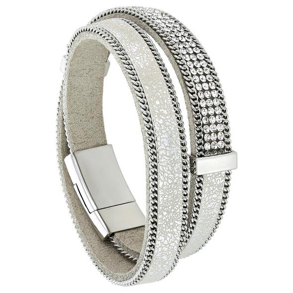Armband - Metallic Silver