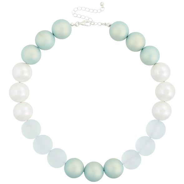 Statement Kette - Pastel Pearls