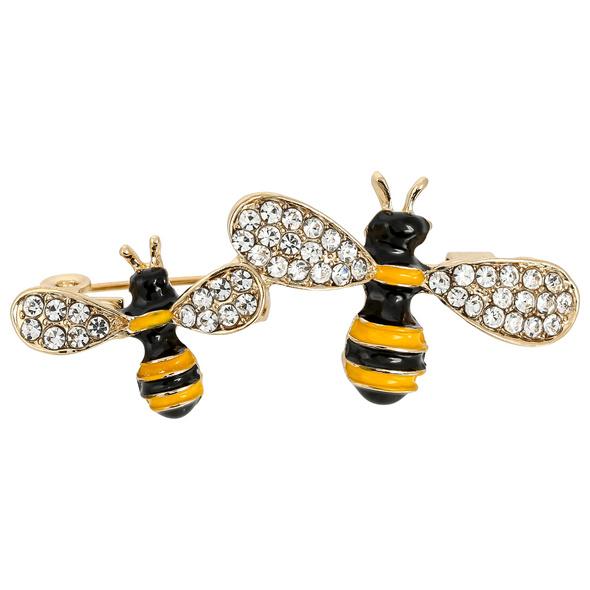 Brosche - Sparkling Bee
