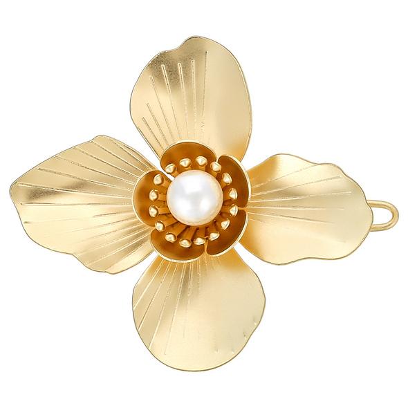 Haarklammer - Golden Flower