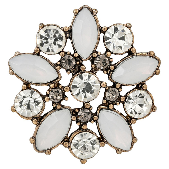 Brosche - Opal Blossom