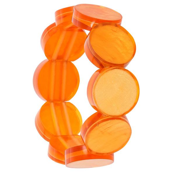 Armband - Orange Shell