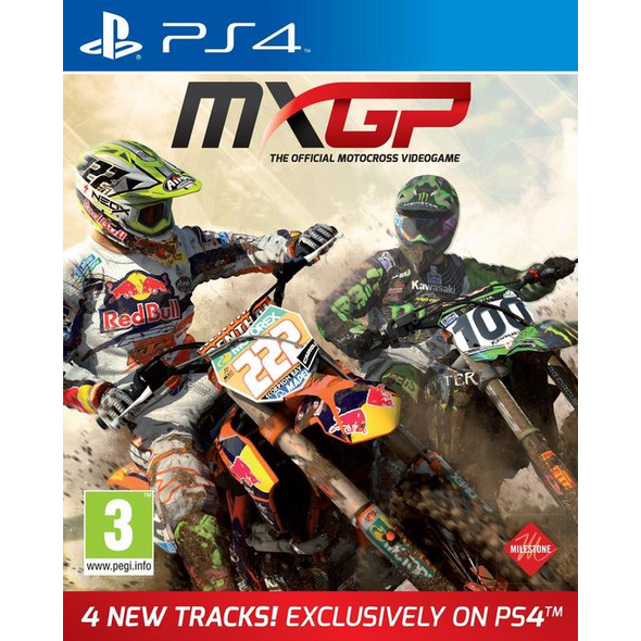 MXGP PS4 MXGP Motorcross Simulation