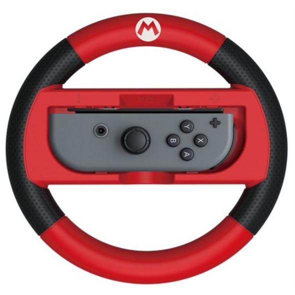 Nintendo Switch Mario Kart 8 Deluxe Lenkrad (Mario-Edition)