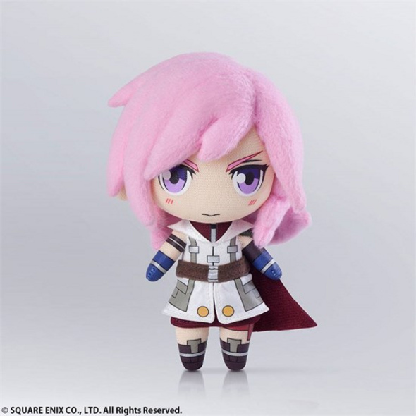 Final Fantasy - Plüschfigur Lightning