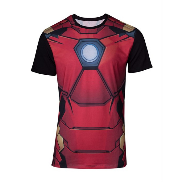 Marvel Iron Man - T-Shirt Suit (Größe L)
