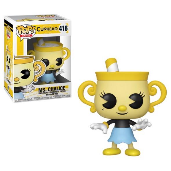 Cuphead - POP!- Vinyl Figur Ms. Chalice