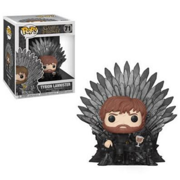 Game of Thrones - POP! Vinyl-Figur Tyrion Lannister auf dem Eisernen Thron