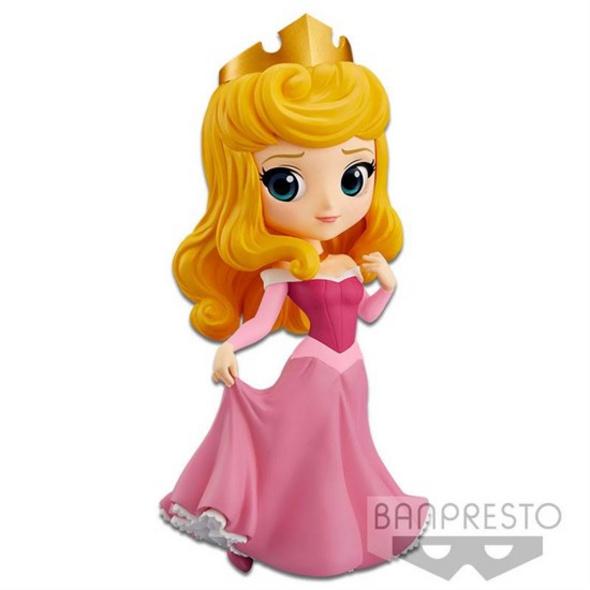 Disney - Figur Q Posket Aurora Pink Dress