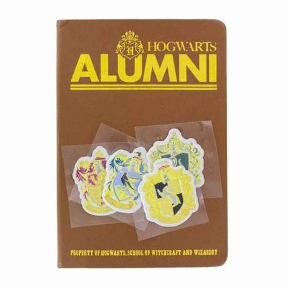Harry Potter - Notizbuch Alumni & Sticker