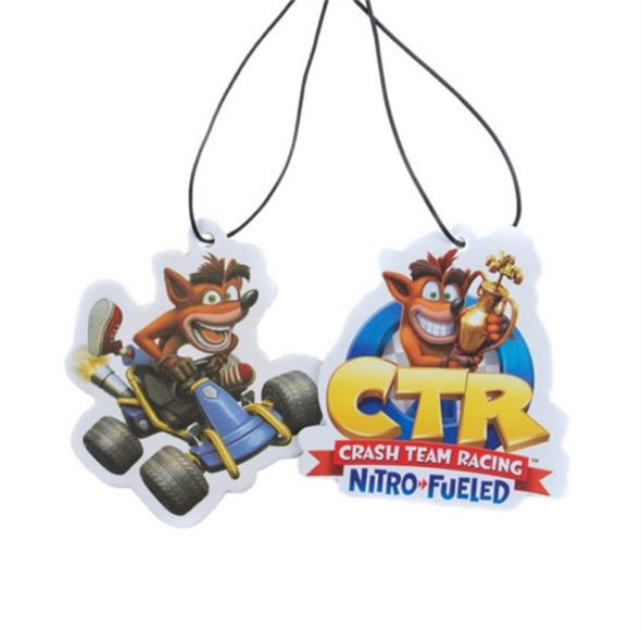 Crash Bandicoot - Lufterfrischer 2er-Pack