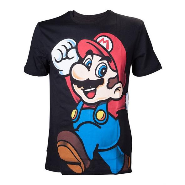 Super Mario - T-Shirt schwarz (Größe S)