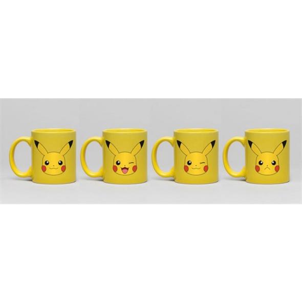 Pokémon - Espresso Tassen Pikachu (4er-Pack)