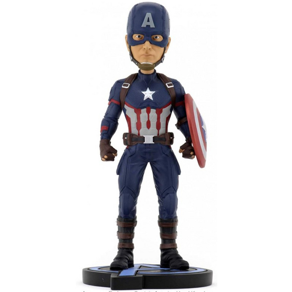 Avengers: Endgame - Wackelkopf-Figur Captain America