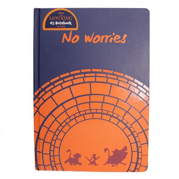 Der König von Löwen - Notizbuch No Worries