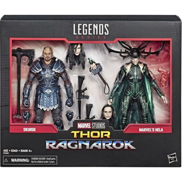 Marvel Thor - Figur Helga und Skurge