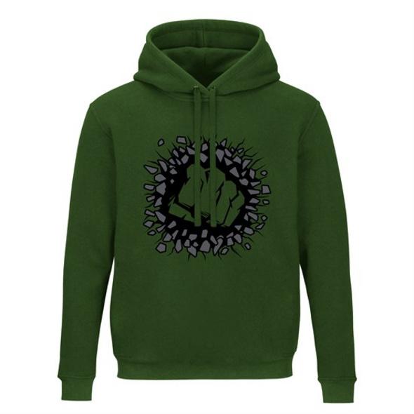 Marvel - Hoodie Hulk (Größe M)