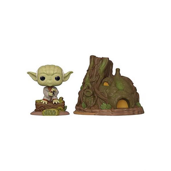 Star Wars - POP!-Vinyl Figur Yoda mit Hütte