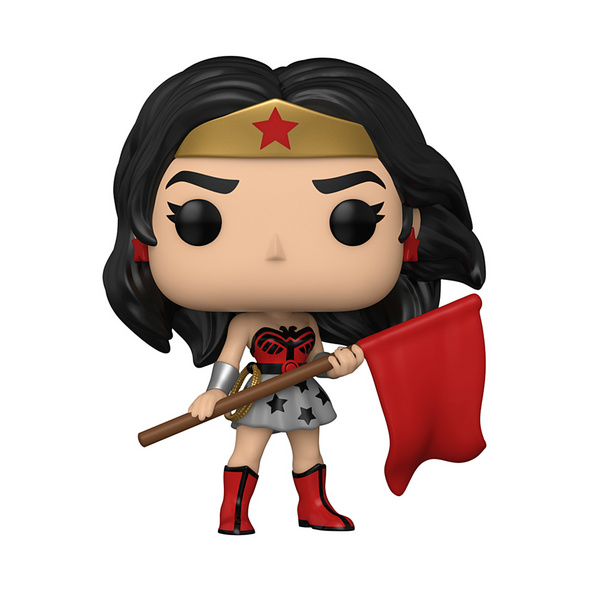 Wonder Woman - POP!-Vinyl Figur 80th Anniversary Wonder Woman (Red Son)