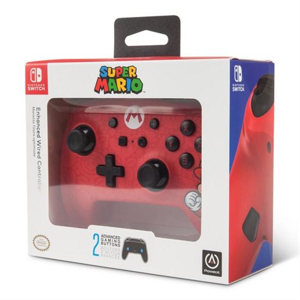Nintendo Switch PowerA Wired Controller Mario