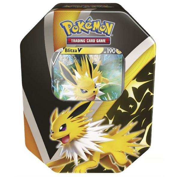 Pokémon Sammelkartenspiel: Schwert & Schild Herbst Tin Blitza