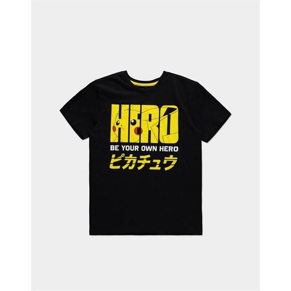 Pokémon - T-Shirt Be your own Hero Größe - XL