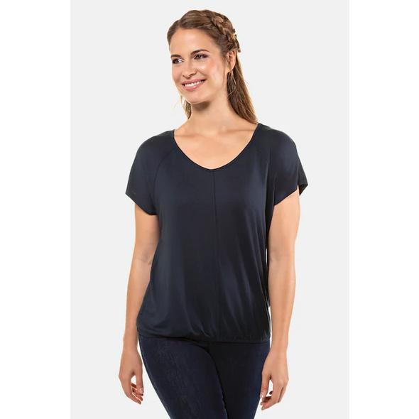 T-Shirt, oversized, Paspel vorne