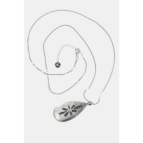 Longkette, Tropfen-Amulett