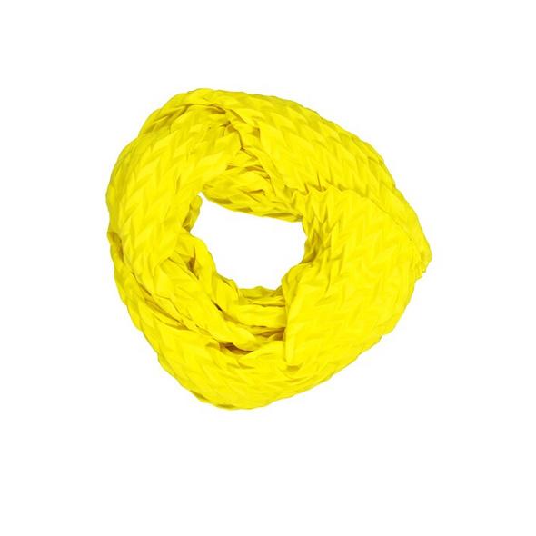 Schal, Plissee-Qualität, Twill-Optik