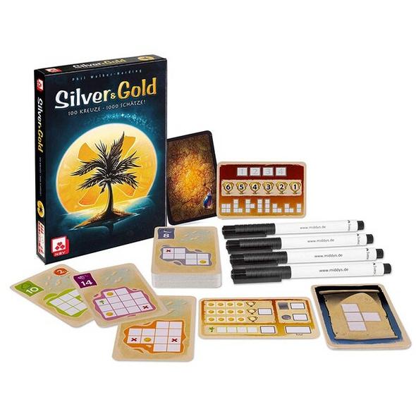 NSV 08819908085 - Silver & Gold, Familienspiel