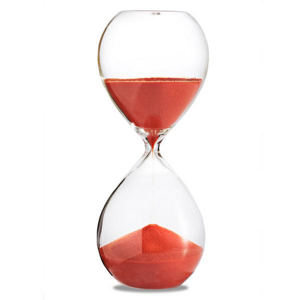 Sanduhr 'Time Out' 30 Minuten, orange