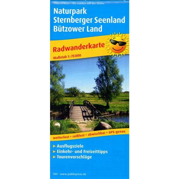 Naturpark Sternberger Seenland, Bützower Land 1 : 75 000