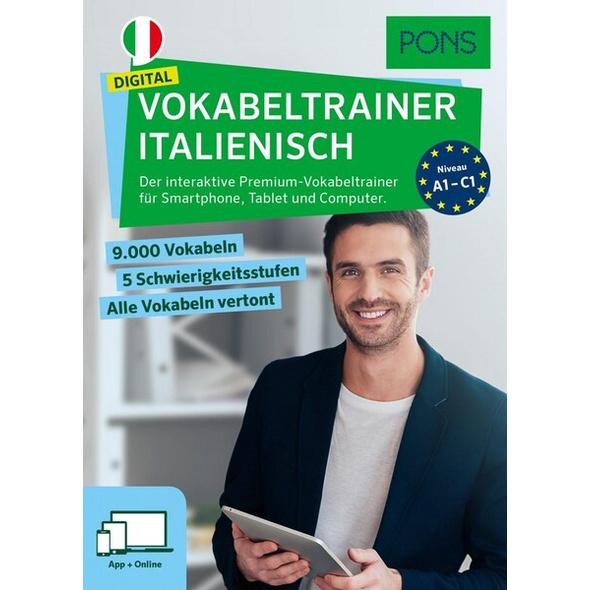 PONS Digital Vokabeltrainer Italienisch