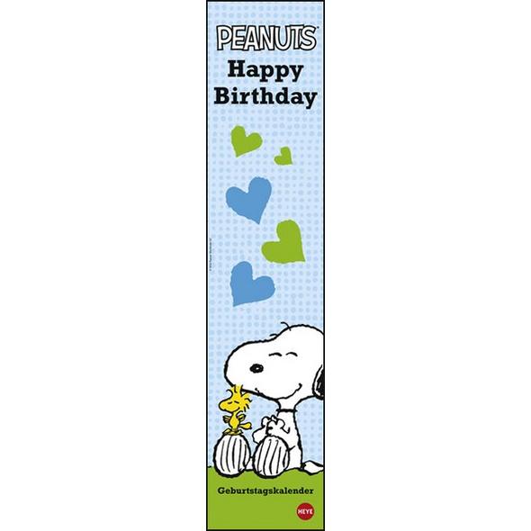 Snoopy Geburtstagskalender long