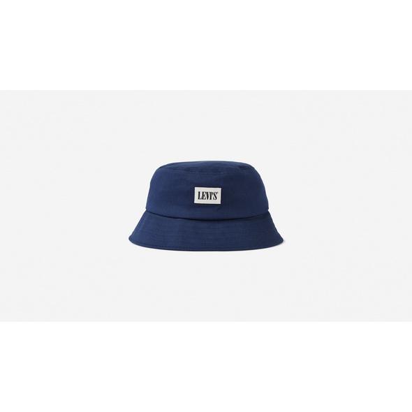 Reversible Serif Bucket Hat