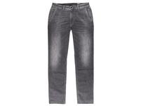 Elastische Jeans im Chino Style mit sportiven Steppnähten