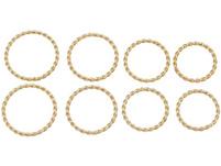 Ringe Set - Gold